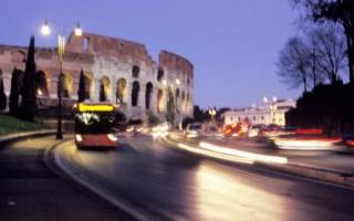 Roma: roma  trasporto pubblico  natale