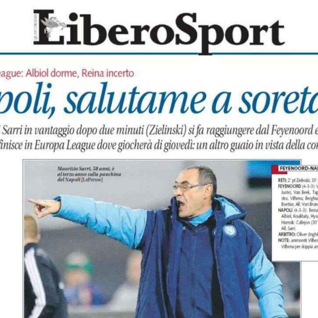 napoli  libero  champions league