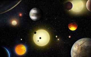 Astronomia: materia organica  microbi  pianeti