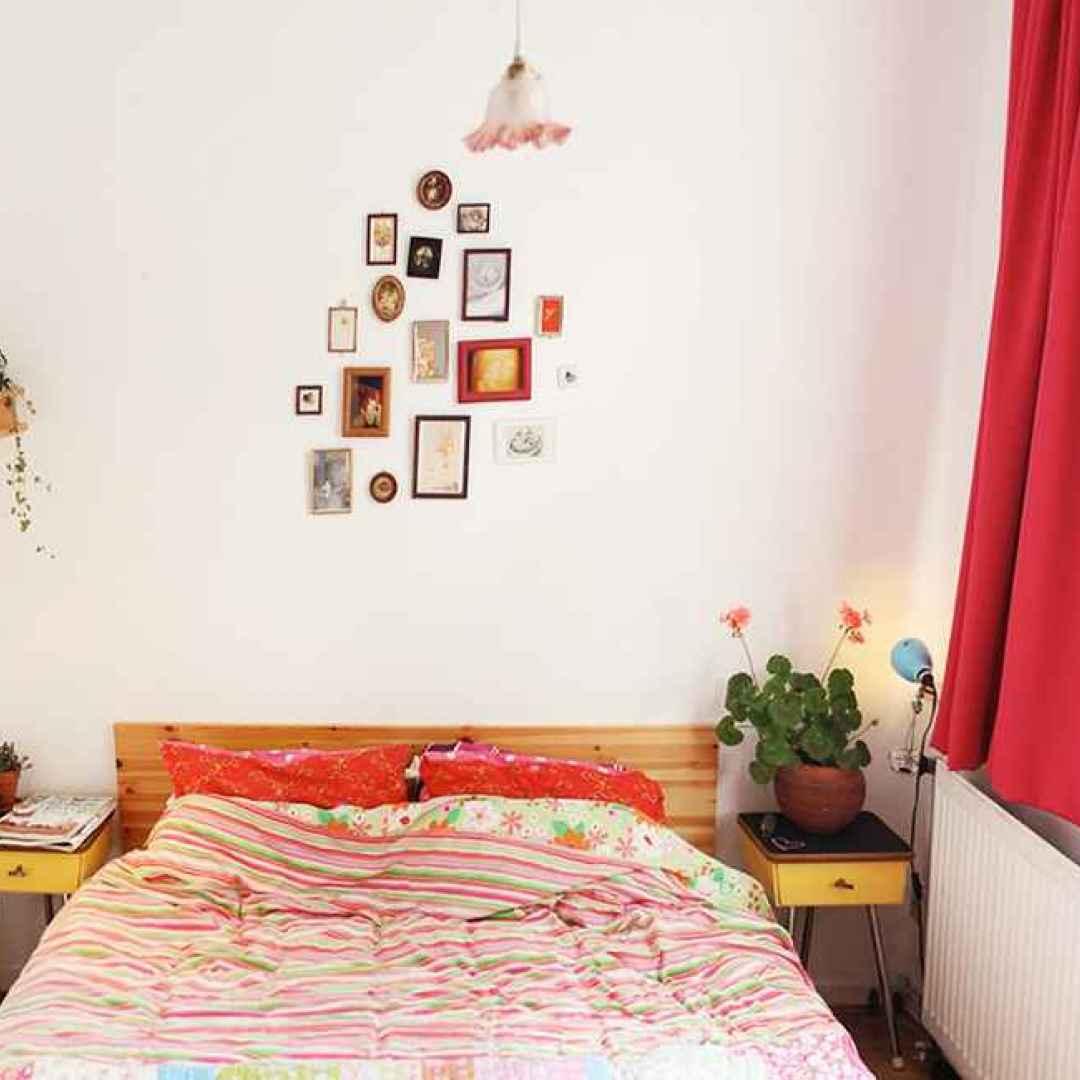 casa camera da letto piccoli spazi