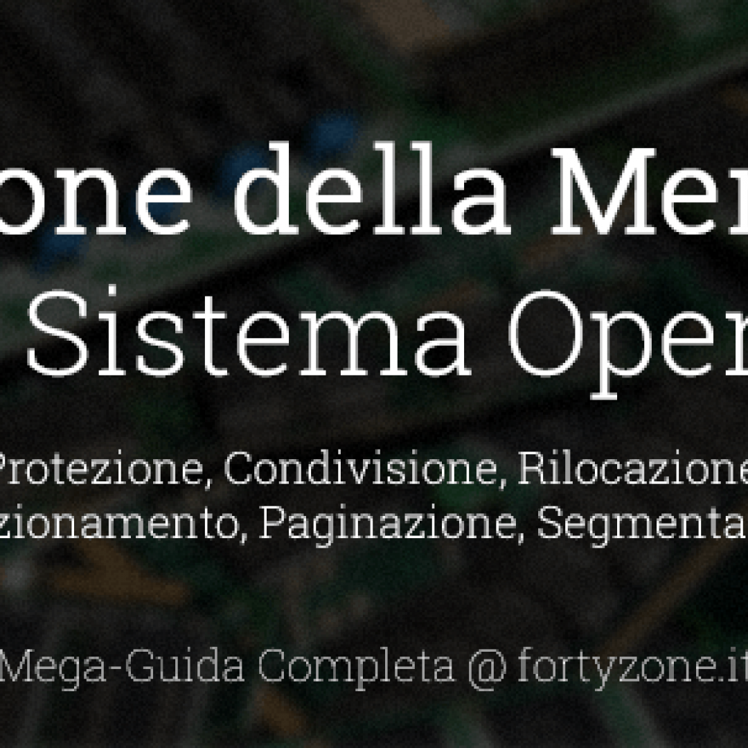 ram sistema operativo computer informati