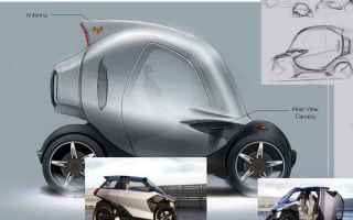 Automobili: auto ibrida  concept  psa