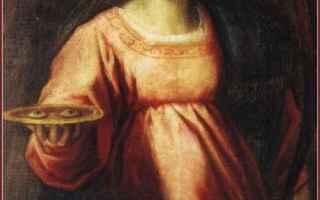 Religione: santa lucia  sicilia  siracusa  venezia