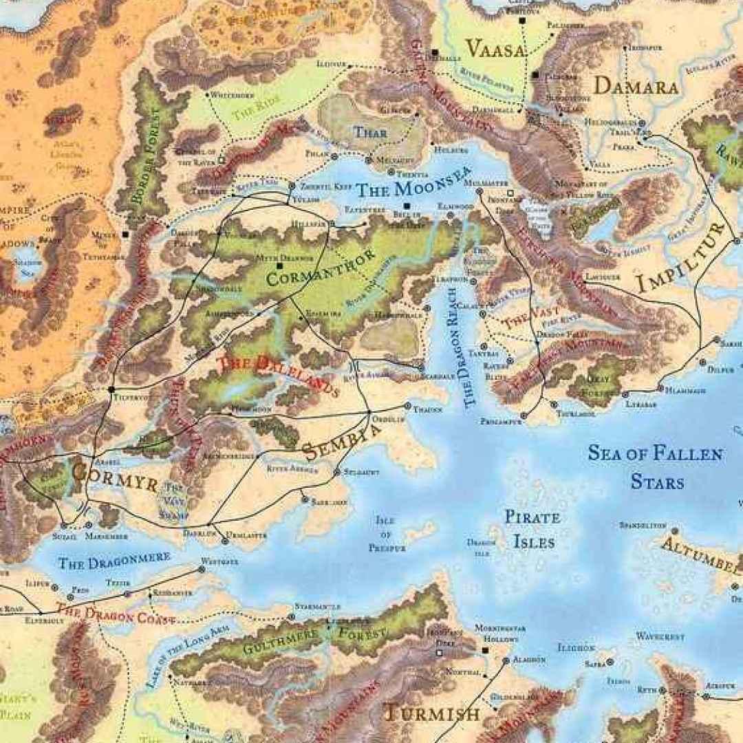 forgotten realms  dungeons & dragons  hillsfar