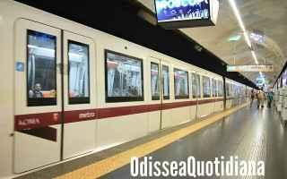 Roma: atac  trasporto pubblico  metro