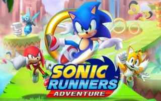Mobile games: sonic  sega  platform  endless runner