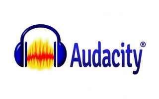 Audio: audacity  audio editor  mp3