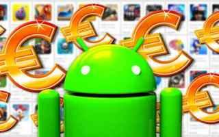 Android: android sconti giochi applicazioni