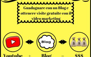 Web Marketing: guadagnare con un blog  visite gratuite