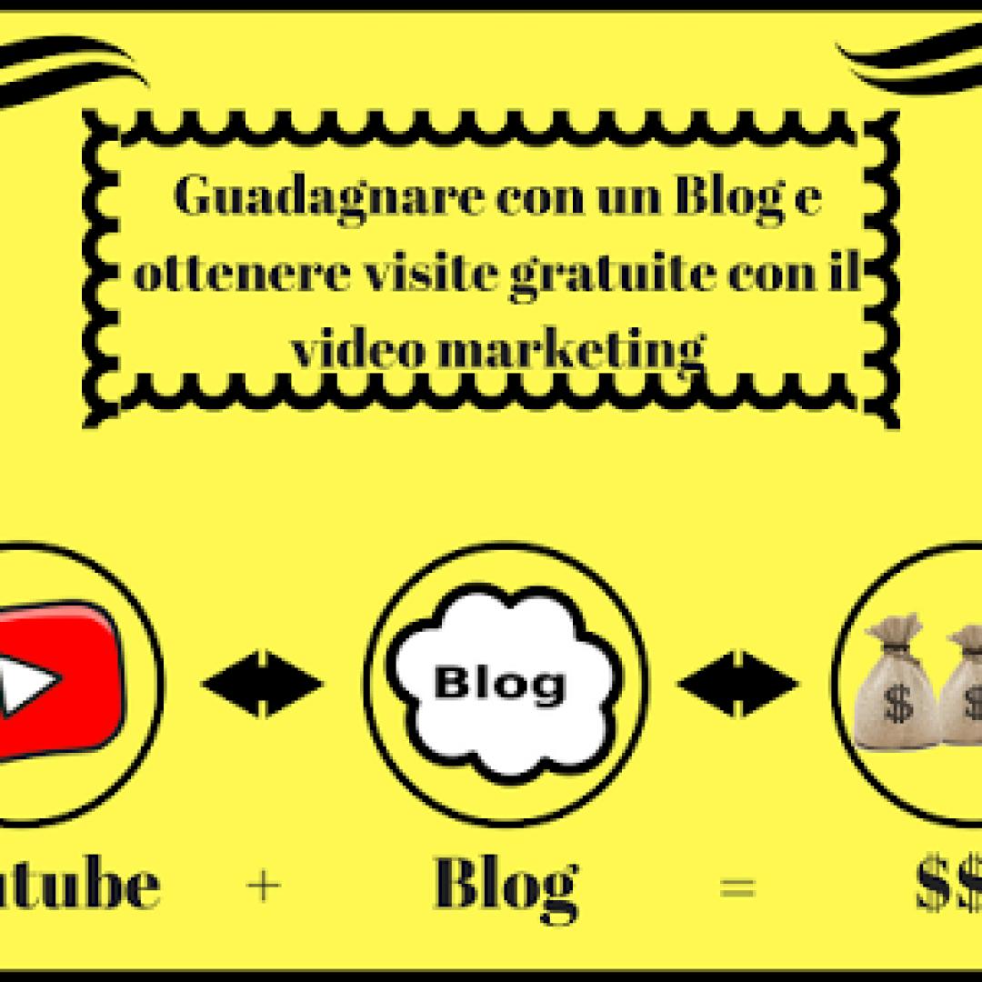guadagnare con un blog  visite gratuite