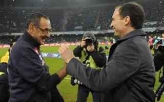 Serie A: calcio  serie a  napoli  sarri  juventus