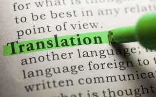 Lavoro: traduttore  traduttori