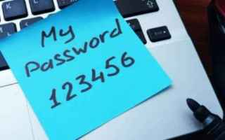 Sicurezza: password  sicurezza  privacy