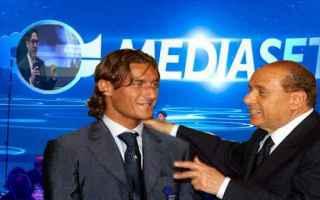 """Calcio: Diritti Tv, nel 2018 più eventi in chiaro. Pier Silvio: """"in Russia vorrei portarci anche Totti"""""""