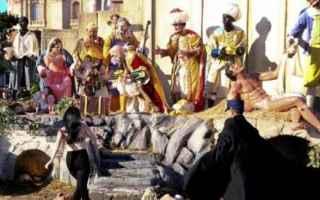 Roma: presepe  femen