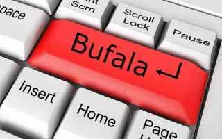 Facebook: bufala