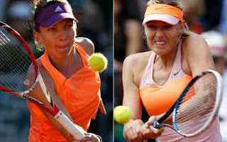 Tennis: tennis grand slam wta shenzhen sharapova