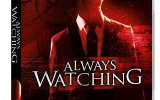 Cinema: slender man horror always watching dvd