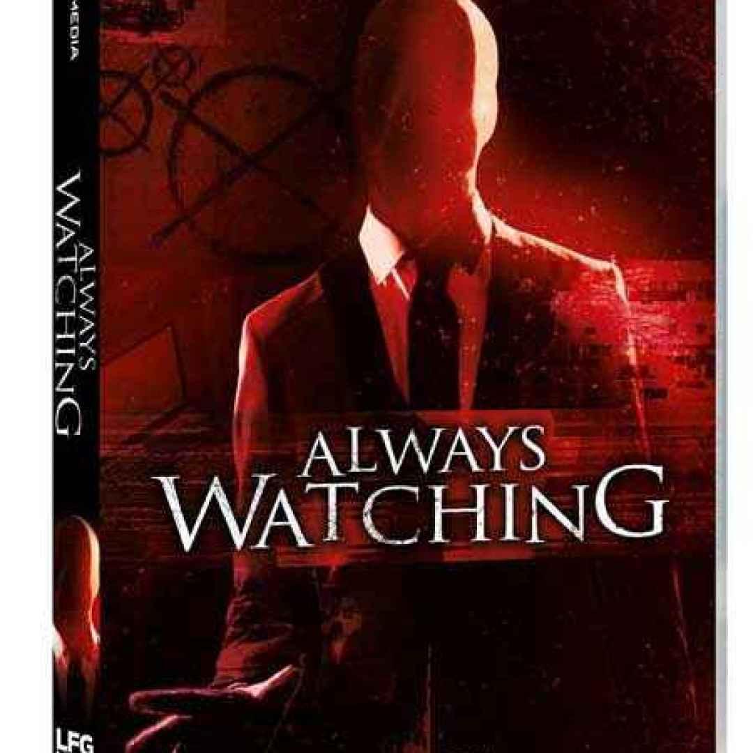 slender man horror always watching dvd