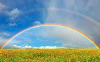 Psiche: interpretazione sogni sognare arcobaleno