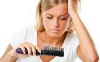 capelli  caduta  stress