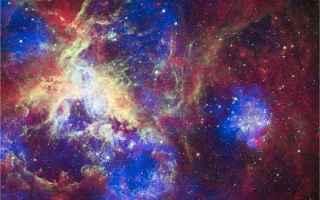 Astronomia: stelle  nebulosa tarantola