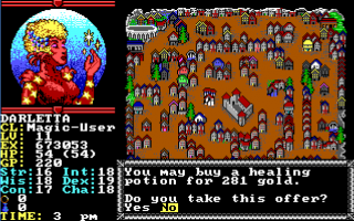 PC games: videogiochi  retrogame  hillsfar