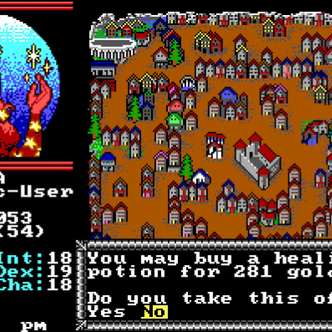 videogiochi  retrogame  hillsfar