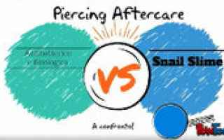 Bellezza: piercing  piercer  cura  cure  aftercare