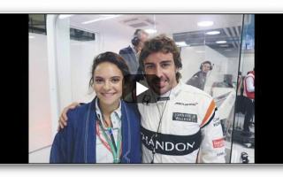 Formula 1: fernando alonso  francesca michielin