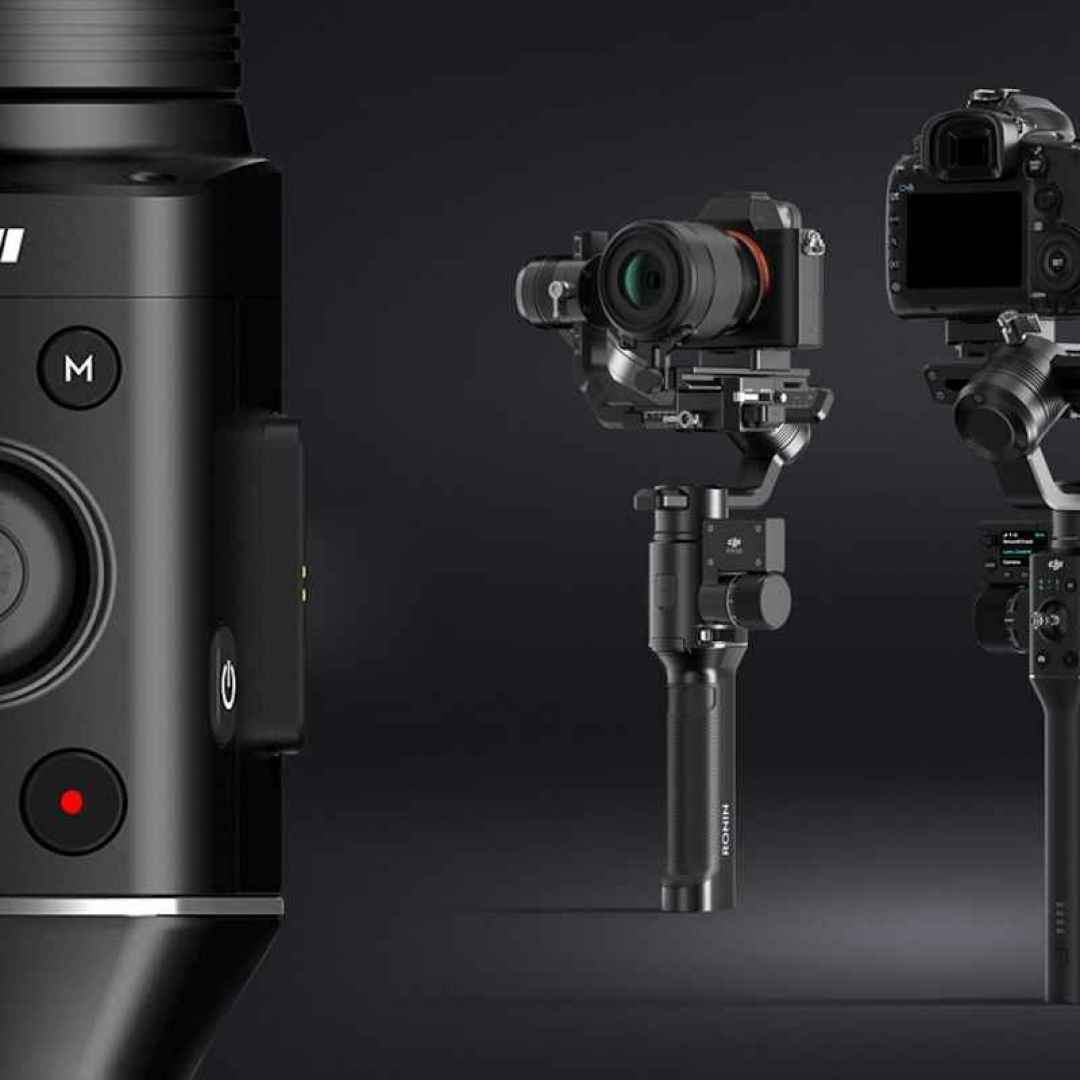 gimbal fotocamere reflex mirrorless