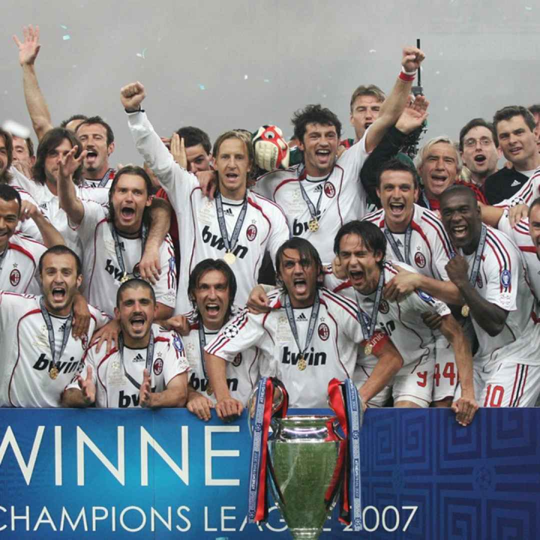 juventus  milan  champions league