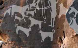 Storia: cane preistoria raffigurazioni
