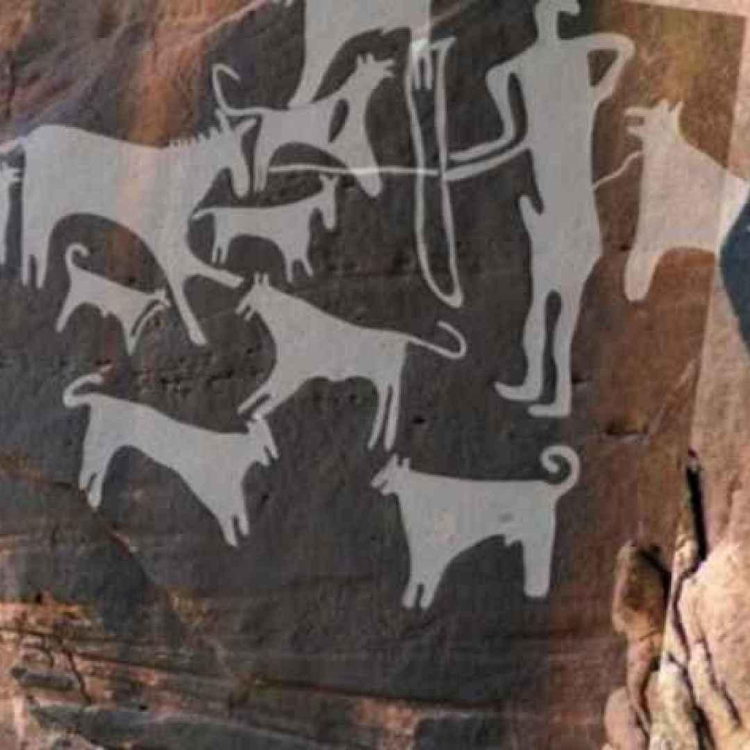 cane preistoria raffigurazioni