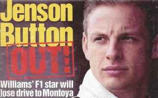 Formula 1: williams  button  montoya