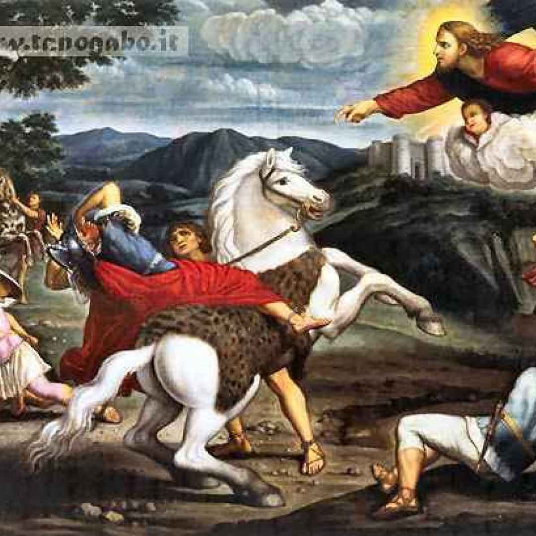conversione  damasco  folgorato  pittura