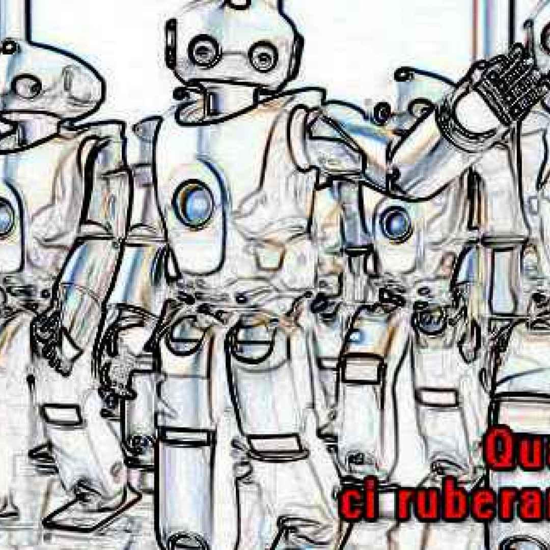 robot  ai  disoccupazione  lavoro