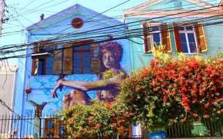 Viaggi: turismo  street art  vacanze  cile