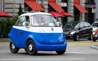 Automobili: microlino  microcar  auto elettrica
