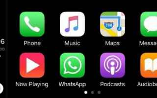 App: whatsapp  carplay  tablet  ipad