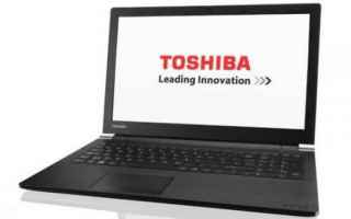 Hardware: toshiba  notebook  windows 10