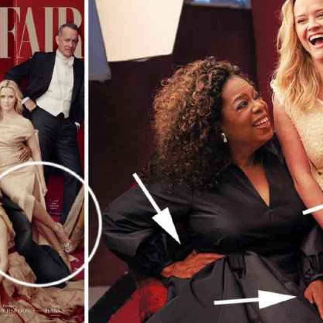 vanity fair  photoshop fotografia
