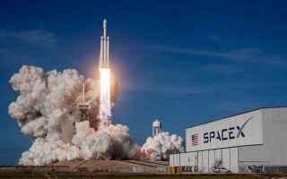 Astronomia: spacex  falcon heavy  tesla  elon musk