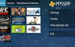 Mobile games: psp  ppsspp  giochi  android  emulatore