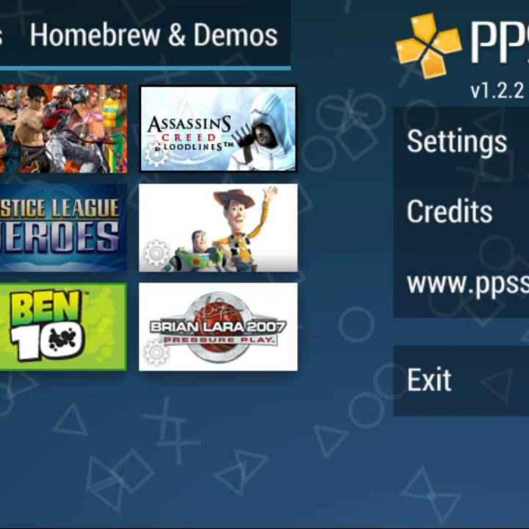 psp  ppsspp  giochi  android  emulatore