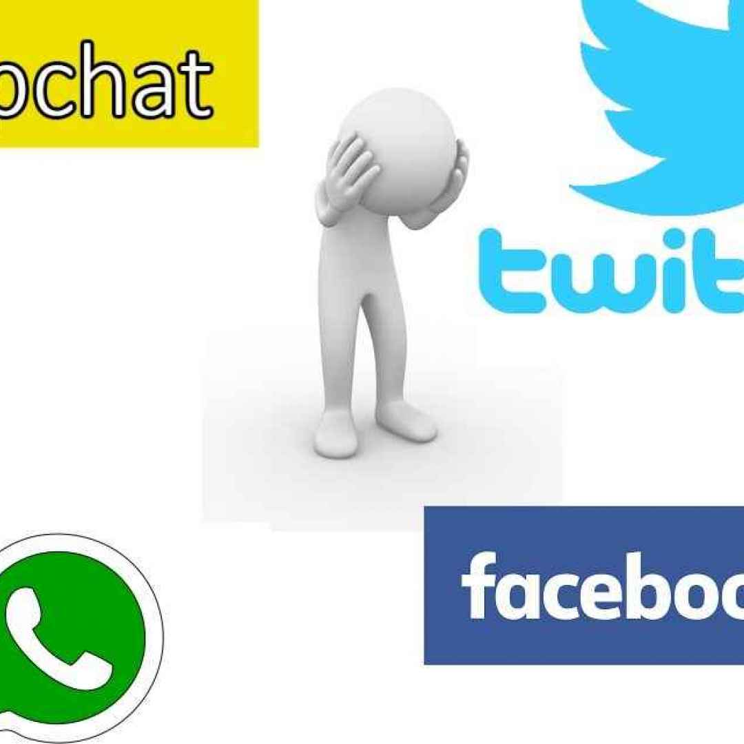 depressione  social  facebook  instagram