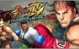 Mobile games: videogame  picchiaduro  street fighteriv