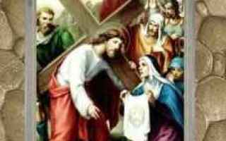Religione: gesù  riflessioni  via crucis