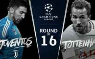 Champions League: juventus  totteham  champions league