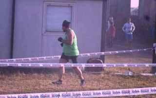 Atletica: 5 mulini  marcia  corsa  sovrappeso